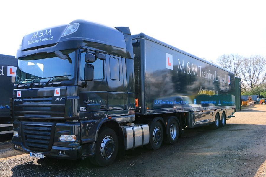 class 1 driver training in dorset hampshire and. Black Bedroom Furniture Sets. Home Design Ideas